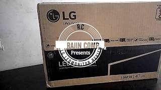 LG LED 19 inch Monitor Unboxing amp Review LG-19M38HB