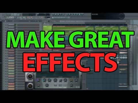 How to make Effects in FL Studio - Sweeps, White Noise, Impacts etc.