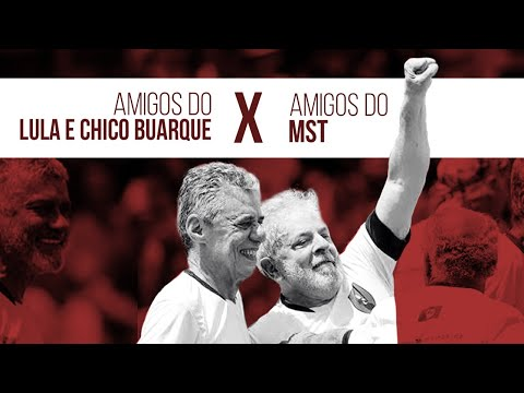 Resultado de imagem para Time de Lula e Chico Buarque x MST pelada de fim de ano