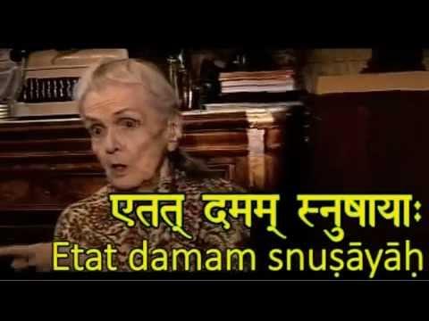 Русские говорят на санскрите