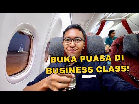 GARUDA INDONESIA DOMESTIC BUSINESS CLASS FLIGHT | SEMARANG KE JAKARTA B737-800