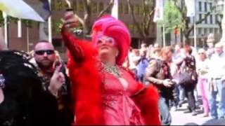 FREE GAY & Happy - Promotour beim CSD Düsseldorf