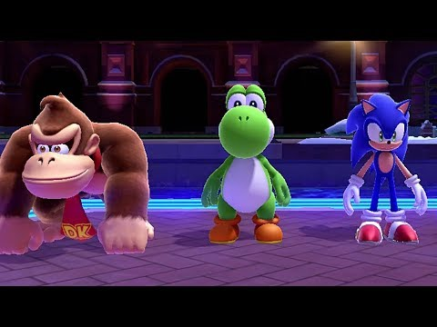 Mario & Sonic at the Sochi 2014 Olympic Winter Games - Area 1-6 LEGENDS SHOWDOWN [Full Walkthrough]