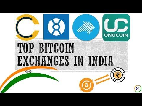 Top 5 Bitcoin Exchanges Of India