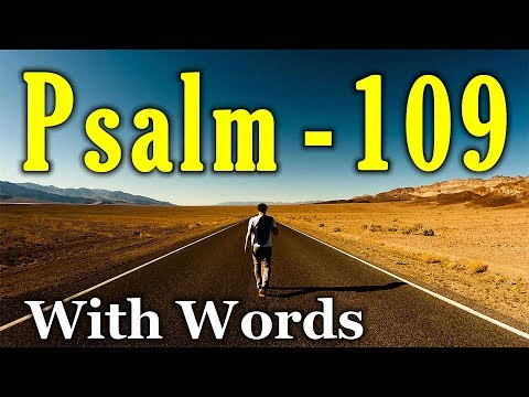 Psalm 109 - Help Me, O Lord My God (With Words - KJV)