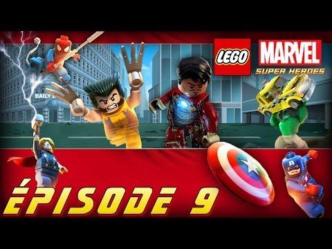 Épisode 9 - Hystérie en Latvérie [Série] LEGO Marvel Super Heroes