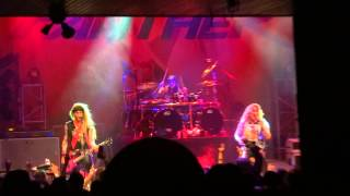 STEEL PANTHER CHERRY PIE WARRANT HOUSE OF BLUES SUNSET 11/26/2012