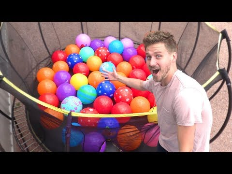 BUYING ALL THE BIG BALLS FROM WALMART!