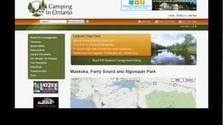 Finding a Campground