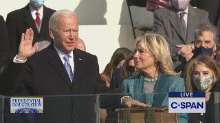 Joe Biden 2021 Presidential Inauguration Ceremony
