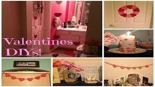 Diy & Inexpensive Valentines Day Decor!