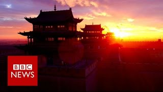 China's Great Wall filmed by drone   BBC News