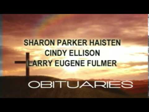 Obituaries For Sept.19th Brought To You By Radney Smith Funeral Home...