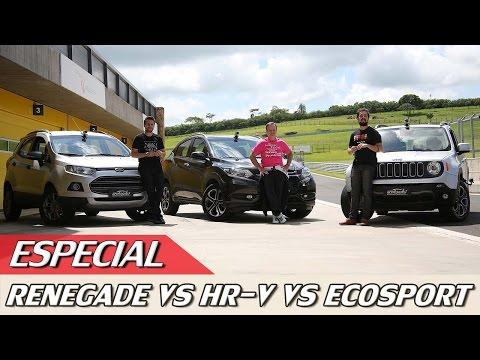 JEEP RENEGADE X HONDA HR-V X FORD ECOSPORT - ESPECIAL #49 | ACELERADOS