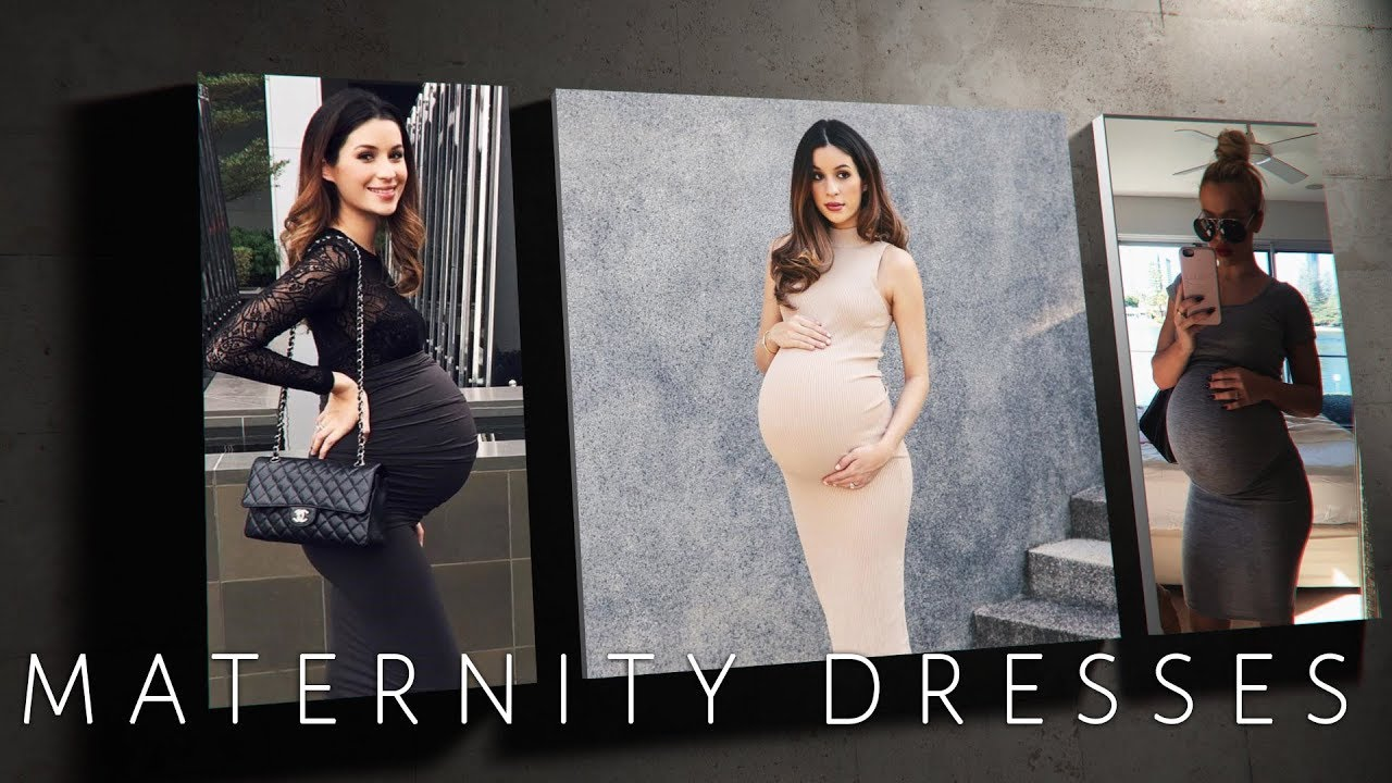 Trendy Maternity Dresses - stretchy or casual