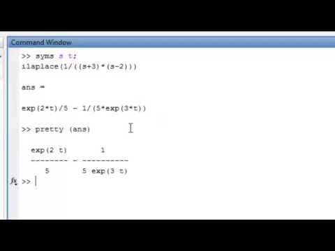 MATLAB:Transfer Functions