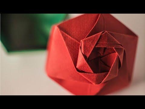 (Valentines day 2019) Origami Hexagonal Gift Box [ENGAGEMENT RING BOX]