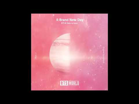 BTS X Zara Larsson A Brand New Day ( BTS World Original Soundtrack Pt. 2 )