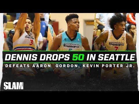 Dennis Smith Jr DROPPED 50 Points vs. Aaron Gordon & Kevin Porter Jr? 👀