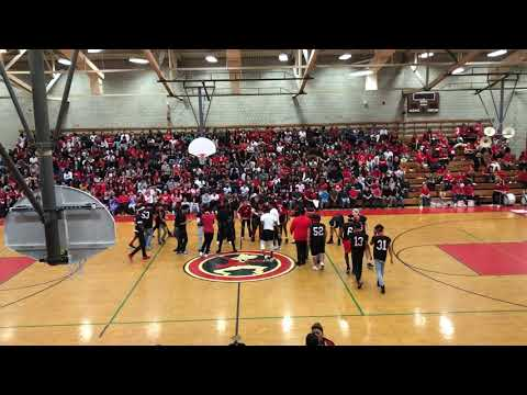 SOUTH HIGH COMMUNITY SCHOOL PEP RALLY 2017