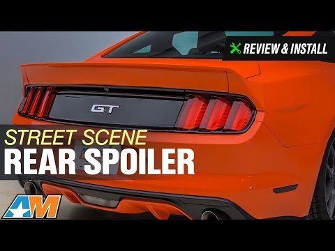 2015-2017 Mustang Street Scene Rear Spoiler - Unpainted Review & Install