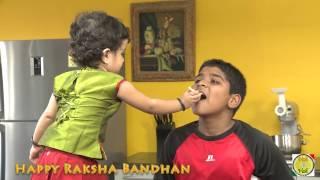 Happy Rakhi Raksha Bandhan - By Vahchef @ Vahrehvah.com