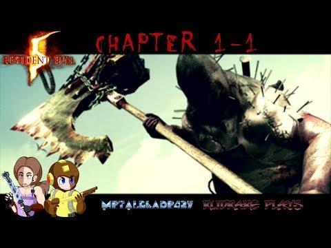 Resident Evil 5 – 1 – Way Down in Africa! Rudrake Plays & ⚙️Metal Blade 427⚙️