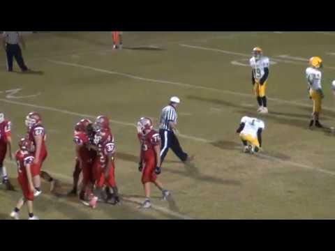 East Wilkes Middle School Football 2018