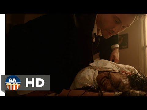 Я Константин, Джон Константин, ублюдок!|Константин изгоняет демона из тела девушки