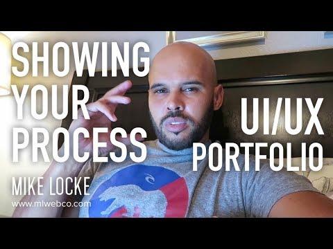 Showing Your Process on Your Portfolio - UI/UX Design Portfolio Advice
