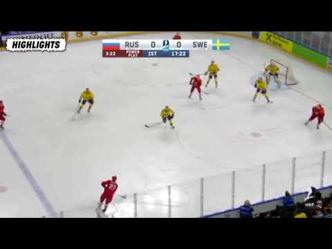 Sverige vs Ryssland hockey VM