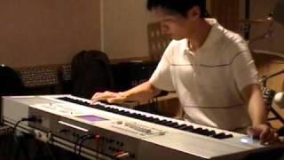 Megadeth - Tornado of souls guitar solo on keyboard