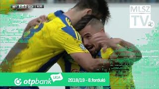 Cseri Tamás gólja a Mezőkövesd Zsóry FC - DVTK mérkőzésen