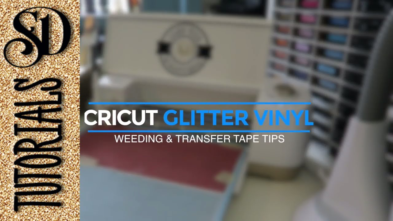 Cricut Glitter Vinyl Tips