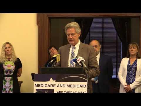 Rep Frank Pallone at Menendez Medicaid/Medicare Anniversary Event w/ NJ Citizen Action