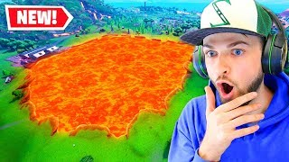*NEW* LAVA DIVOT in Fortnite!