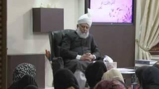 Gulshan-e-Waqfe Nau (Lajna) Class: 14th November 2010 - Part 3 (Urdu)