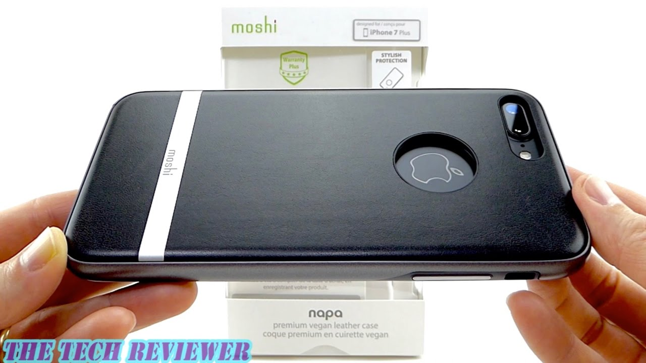 on sale 2e259 53a97 Moshi Napa for iPhone 7 Plus: Elegant Vegan Leather with Mil-Spec  Protection!