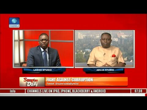 Sunrise Daily: Nigeria's Corruption Is With Impunity, Lawmaker Declares Pt 1