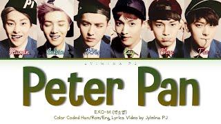 Download lagu EXO-M (엑소엠) - 'Peter Pan (彼得潘)' Lyrics (Color Coded_Chin_Pin_Eng)