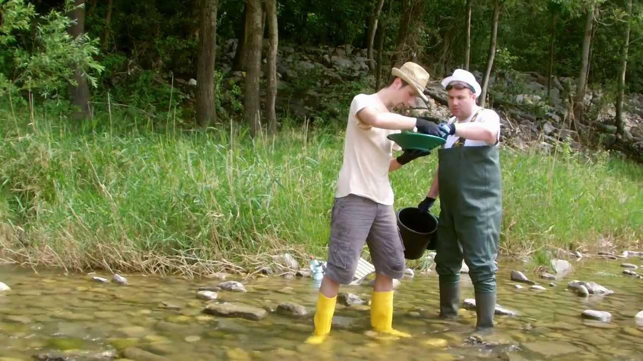 Unser Hobby Goldschürfen - Zwei Arkkordarbeiter finden Gold  (Gold Rush)