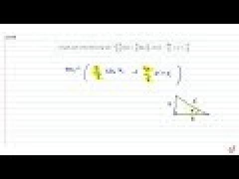 Simplify each of the following: `cos^(-1)(3/5cosx+4/5sinx)` , where `-(3pi)/4lt=xlt=pi/4`   `si...