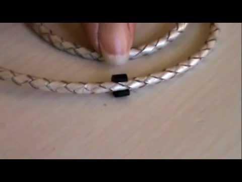 Pandora Jewelry Leather Bracelet System M4v Youtube