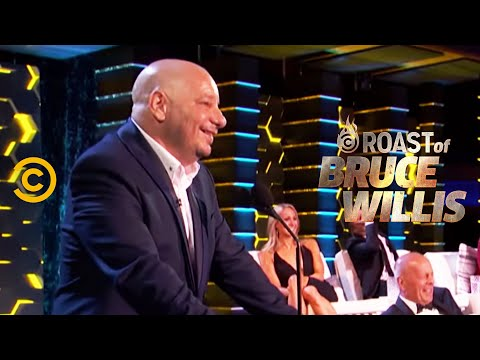 Jeff Ross Sets Dennis Rodman Straight - Roast of Bruce Willis