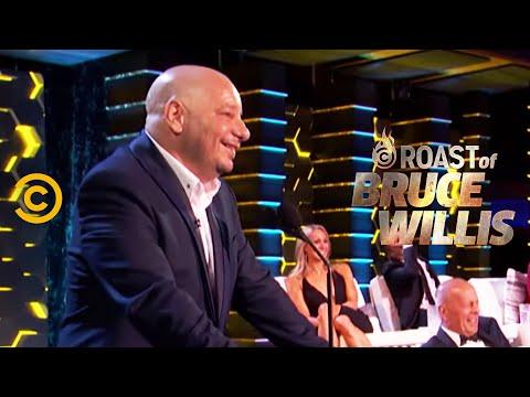 Jeff Ross Sets Dennis Rodman Straight - Roast of Bruce Willis