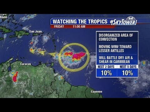 Tropical weather forecast: August 17, 2018