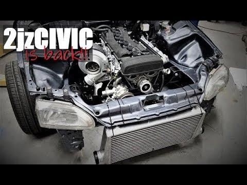 2jz Honda Civic