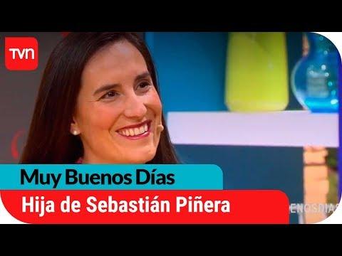 Hija de Sebastián Piñera visita Muy Buenos Días   Muy buenos días