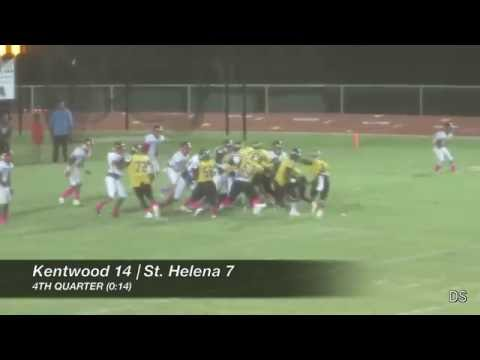 Kentwood vs. St. Helena Final Seconds, Interviews