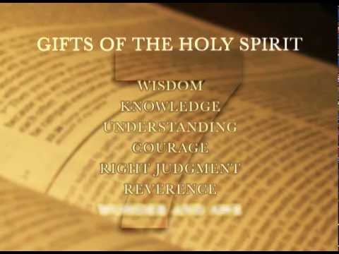 Gifts of the holy spirit wisdom youtube gifts of the holy spirit wisdom negle Image collections